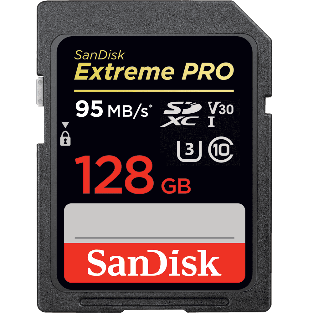 SanDisk Extreme PRO<sup>®</sup> SD UHS-I Memory Cards