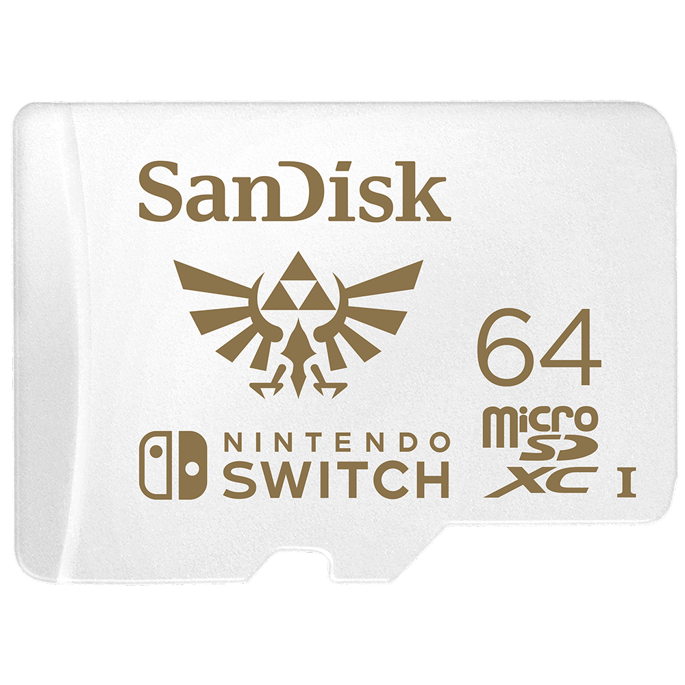 SanDisk microSDXC Cards for Nintendo Switch