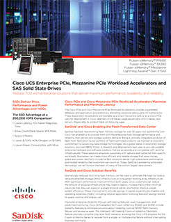 Cisco UCS Enterprise SSD
