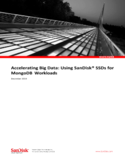 Accelerating Big Data – Using SanDisk SSDs for MongoDB Workloads
