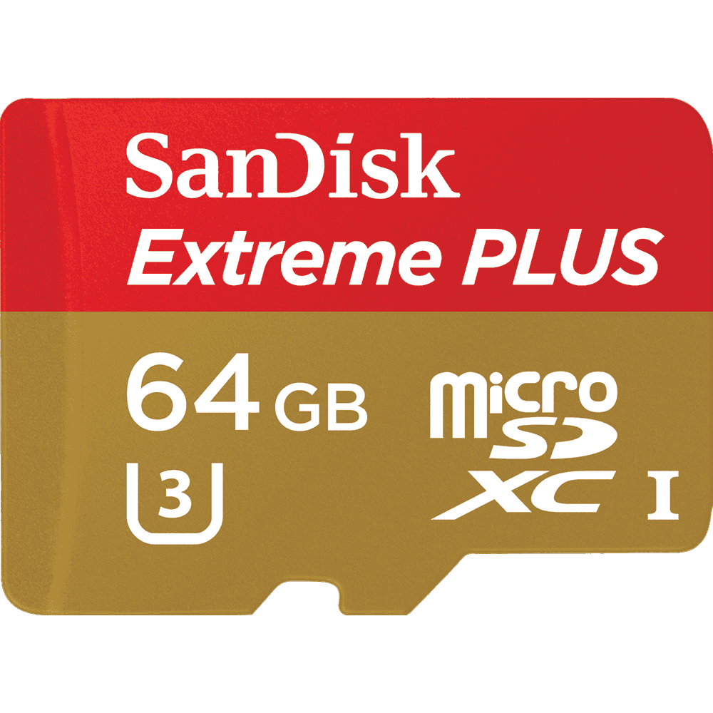 "Extreme<sup>®</sup> PLUS <i class=""lowercase"">micro</i>SDHC™/<i class=""lowercase"">micro</i>SDXC™ UHS-I Card for Action Cameras"